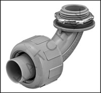 "O1176 KAF-FLEX LIQUID TIGHT 3/4"" 90o CONNECTOR"