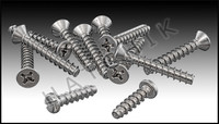 """O4027 HAYWARD SPX0607Z1A SCREW SET 1-1/2"""""""" SELF TAPPING FOR 607"""