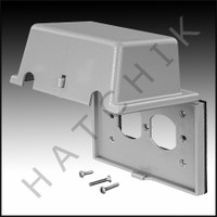 O9010 TAYMAC SAFETY ENCLOSURE, STD OUTLET COVER,HORIZONTAL MOUNT