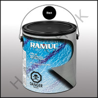 P6021 RAMUC DS PAINT-1 GAL BLACK COLOR: BLACK #321