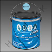 P6033 RAMUC AQUALUSTER PNT-1 GAL D.BLUE COLOR: DAWN BLUE #328