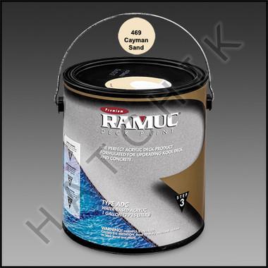 P8726 RAMUC DECK PAINT 1 GAL CAYMAN SAND