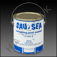 P9053 SAU-SEA  1 GAL CAN TYPE R COLOR: TROPIC BLUE #453