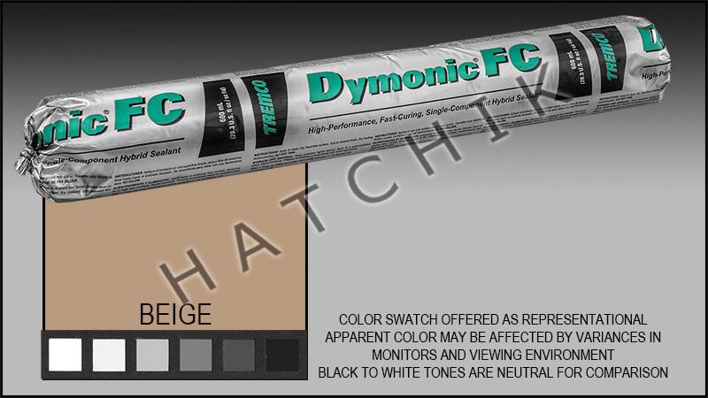 DYMONIC FC 20 OZ SAUSAGE BEIGE COLOR:BEIGE (REPL  VULKEM #921)