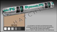 S1000 DYMONIC FC 20 OZ.SAUSAGE BEIGE COLOR:BEIGE (REPL. VULKEM #921)