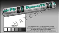 S1002 DYMONIC FC 20 OZ. SAUSAGE COLOR: WHITE (REPL. VULKEM #921)