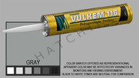 S1008 VULKEM SEALANT #116 11oz GREY CARTRIDGE   COLOR: GRAY