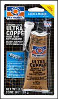 S4076 PERMATEX ULTRA COPPER SEALANT 3oz HIGH TEMP SILICONE GASKET 3 OZ