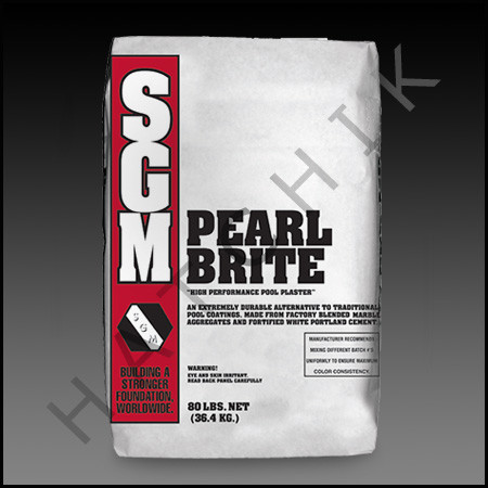 Pool Plaster Ultra Pearl Brite 80 Bag Pearl White