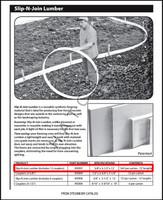T1518 STEGMEIER SLIP-N-JOIN LUMBER 12 X 12' PC PER CASE