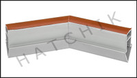 T1752 QUAKER EXPANSION JOINT 45 GREY JOINT  COLOR: GRAY