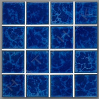 T4304 TILE-REFLECTION SERIES 3X3 RE-344 PACIFIC BLUE 3 X 3 20/CS