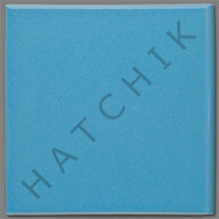 T4801 TILE- LIGHT BLUE BULLNOSE SOLID SERIES #J-61SBN
