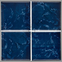 "T4820 TILE- POOL STAR 6"" X 6"" PSR1000 NIGHT BLUE (+"