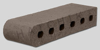 "T7001 BRICK COPING SBN STERLING GREY 3-1/2"" X 2-3/16"" X 11-1/2"