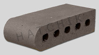 "T7003 BRICK COPING SBN STERLING GREY 3-1/2"" X 2-3/16"" X 9"