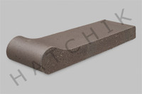 T7018 BRICK COPING - SAFETY GRIP STER GREY 3-5/8X1-1/4X12-1/2