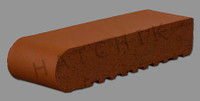 T7110 BRICK COPING-SBN-PLANTATIONRED 3-5/8 X 11-5/8 X 2-1/4   #200