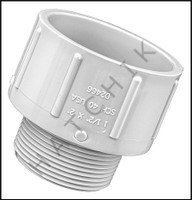 "U2215 MALE ADAPTOR 2"" F-SLIP X 1-1/2"" MPT"