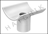 "U2760 PVC SCH 40 SADDLE TEE 6"" X 2"" 463-528"