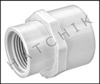 "U2907 FEMALE ADAPTOR SLIP X FPT 1"" X 3/4""  435-131"
