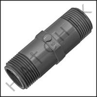 """U3117 PVC NIPPLE 3/4"""" X 3"""