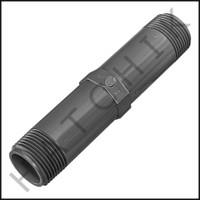 """U3123 PVC NIPPLE 1"""" X 6"""