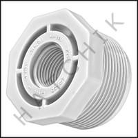 "U4114 BUSHING REDUCER M X F 1-1/2 x 1/2 1-1/2"" X 1/2""    #439-209"