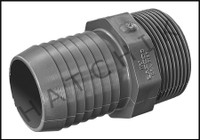 U5515 MALE ADAPTOR INSERTXMPT 1-1/2