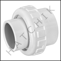 U6519 UNION PRAHER 2 X 1-1/2 S X S SCH 40 PVC