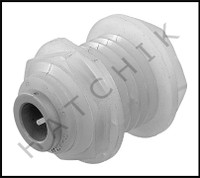 "C2012 POLY 3/8"" THRU WALL COUPLER"