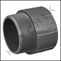 "U7240 MALE ADAPTOR SCH 80 4"" S X MPT"