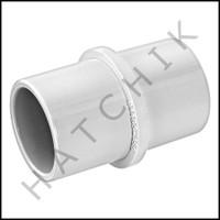 "U8725 PVC INSIDE PIPE COUPLING 1-1/2"""