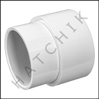 "U8733 PVC FITTING EXTENDER 2"" X SOCKET"