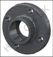 V1225 PVC FLANGE-SLIP 2-1/2 SCH. 80  (SOCKET)