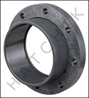 V1280 PVC FLANGE-SLIP 8 SCH. 80  (SOCKET)