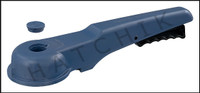 "V1436 ASAHI 8"" BLUE PLAS REPL.HANDLE FOR PVC WAFER VALVE NEW STYLE  (BLUE)"