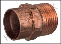 V1810 COPPER MALE ADAPTER 1