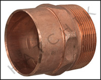 V1820 COPPER MALE ADAPTER 2