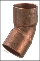 V2210 COPPER (45) ELBOW  1