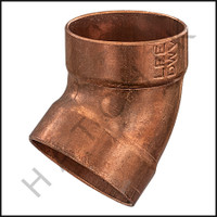 V2215 COPPER (45) ELBOW  1-1/2