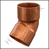 V2220 COPPER (45) ELBOW  2