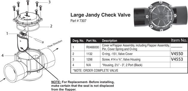 3 Way Jandy Valve Diagram - Diagrams Catalogue