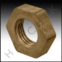V5205 BRASS LOCK NUT 1/4