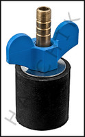 "V5615 OPEN TEST PLUG FOR 1-1/2"" PIPE #45 #O45"