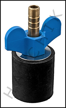 """V5615 OPEN TEST PLUG FOR 1-1/2"""" PIPE #45 #O45"""