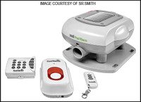 V7268 SR SMITH PSX-300 SONIX POOL ALARM SOLAR POWERED WIRELESS POOL ALARM