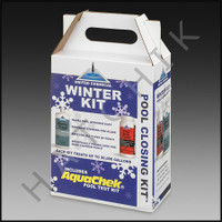 A3158 UNITED CHEMICAL WINTER CLOSING KIT 32oz. WINTERTREAT & 2# STAINTREAT