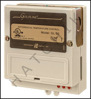 D3062 GOLDLINE GL-30 DIFFERENTAL CONTROL ADJ. 8/4-24/4oF HIGH LIMIT