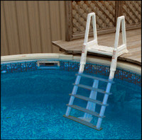 "W5281 CONFER #6000 H.D.INPOOL LADDER FOR DECKS 42"" TO 56"" HIGH"